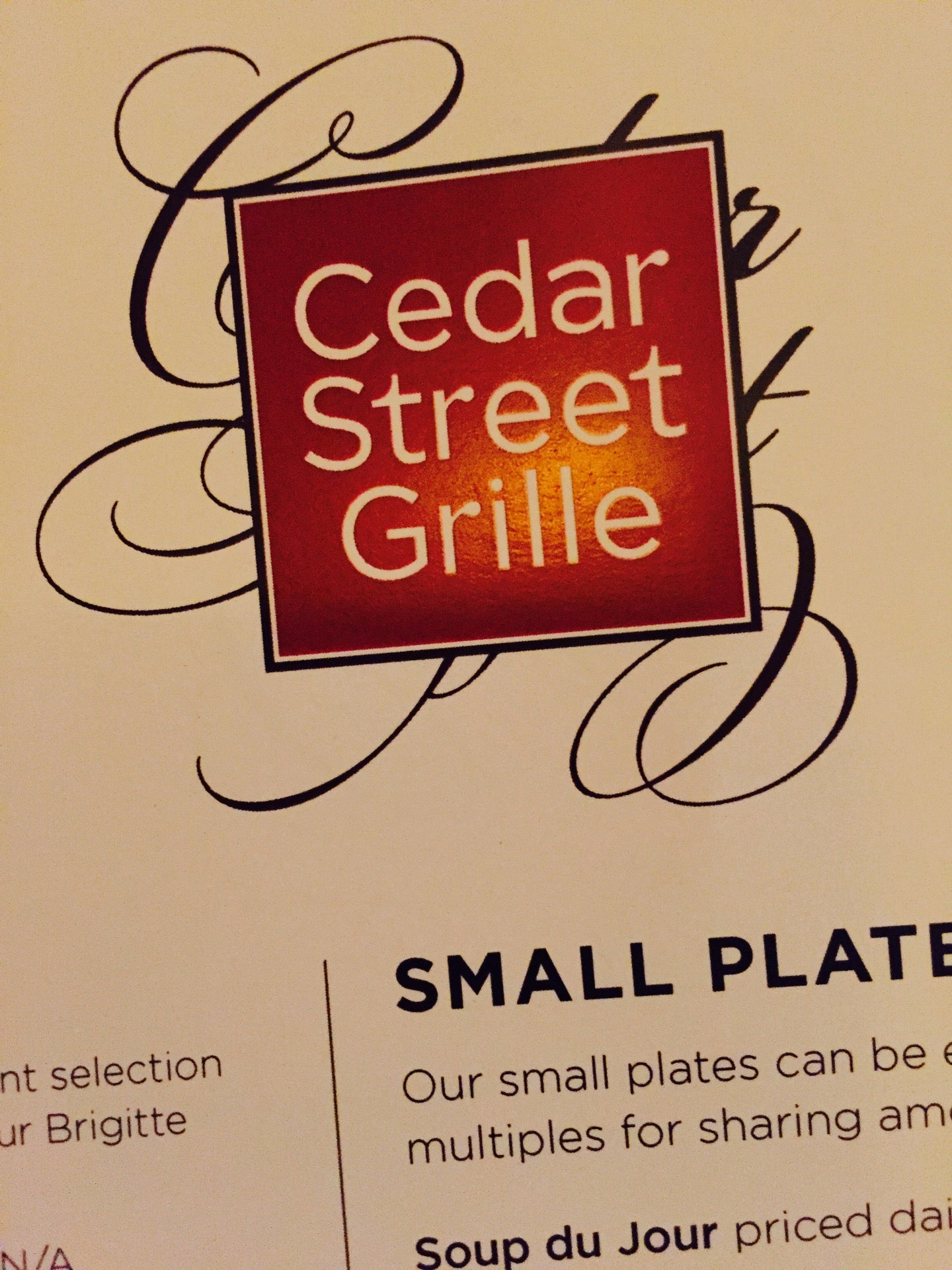 Cedar Street Grille,