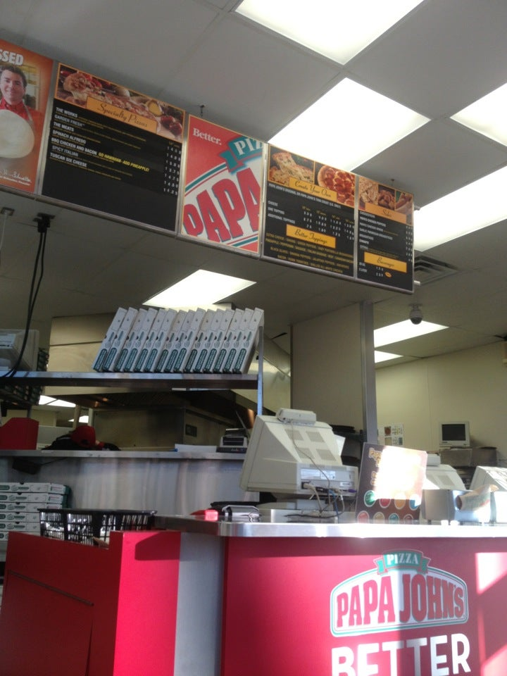 PAPA JOHN'S PIZZA,pizza,resturant, pizza, wings,work
