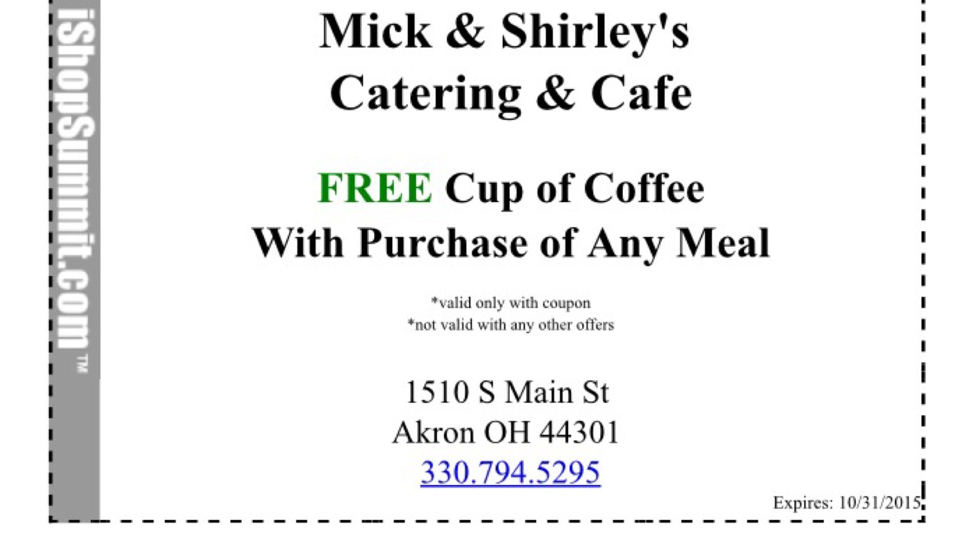 MICK & SHIRLEYS CATERING & CAFE,
