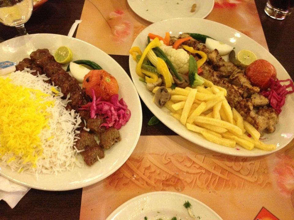 Pars iranian restaurant moe al barsha dubai for Ahmad s persian cuisine