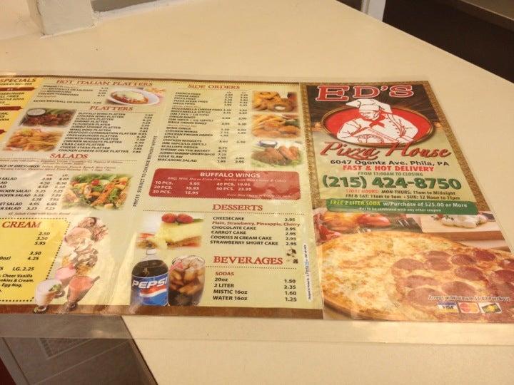 Ed's Pizza,