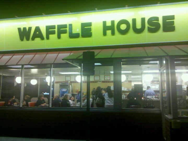 WAFFLE HOUSE,coffee