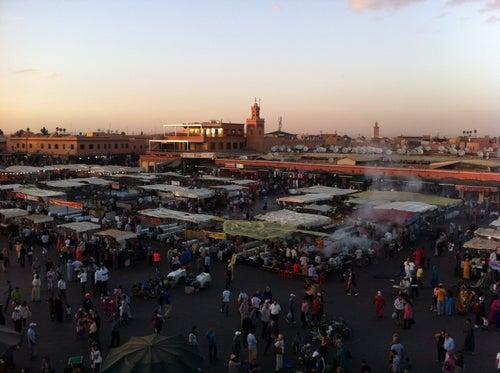 Place Jemaa el-Fna (ساحة جامع الفناء)
