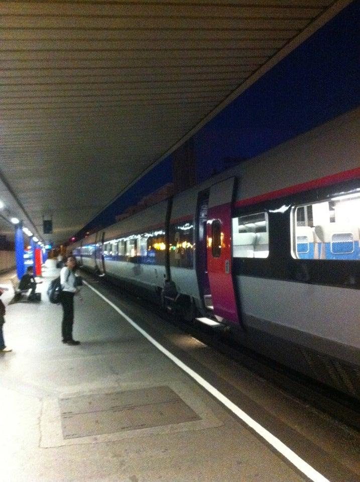 Station van Grenoble