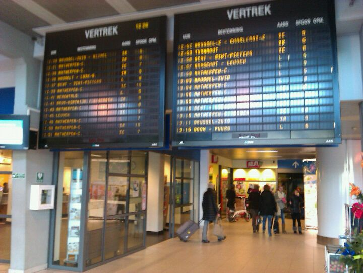 Gare d'Anvers-Berchem