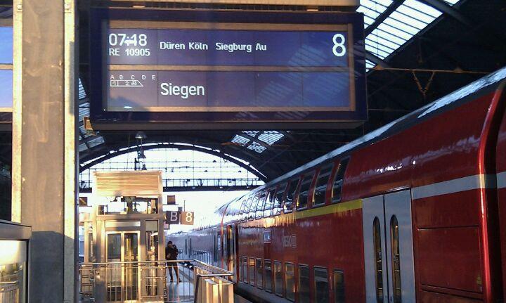 Station van Aachen Hbf