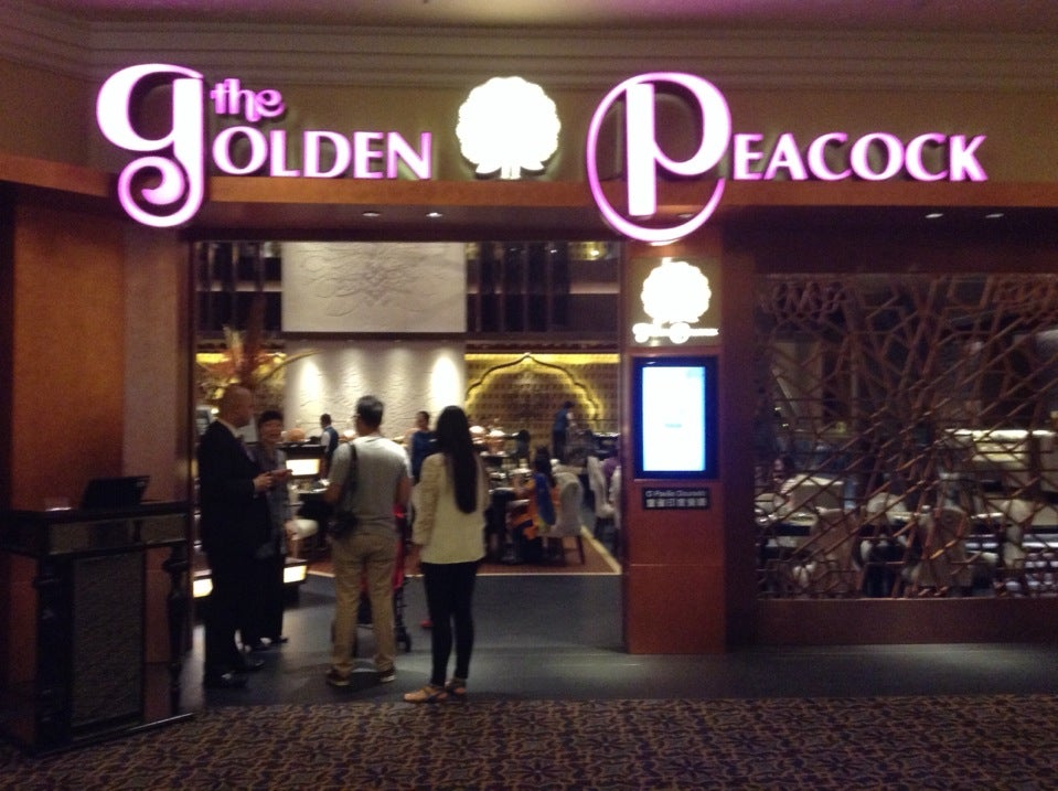 Golden Peacock - Venetian Macau