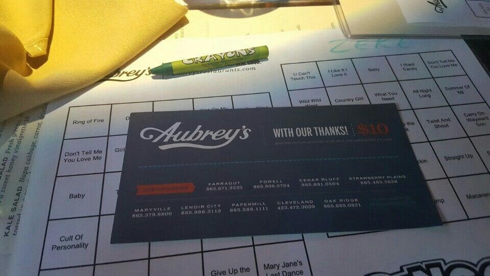 Photo of Aubrey's