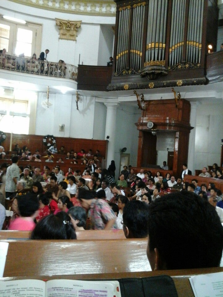 Immanuel Church Gereja Immanuel In Jakarta Attraction
