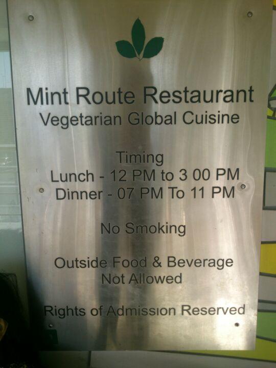 Mint Route