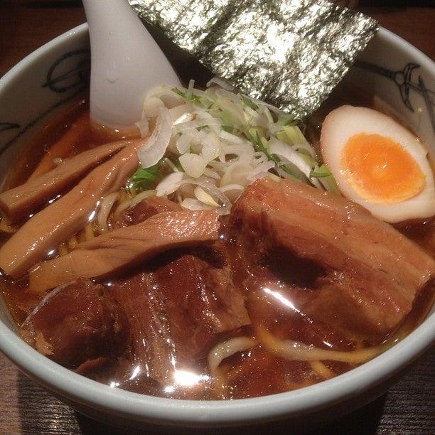 Menya Musashi (麺屋武蔵新宿本店)