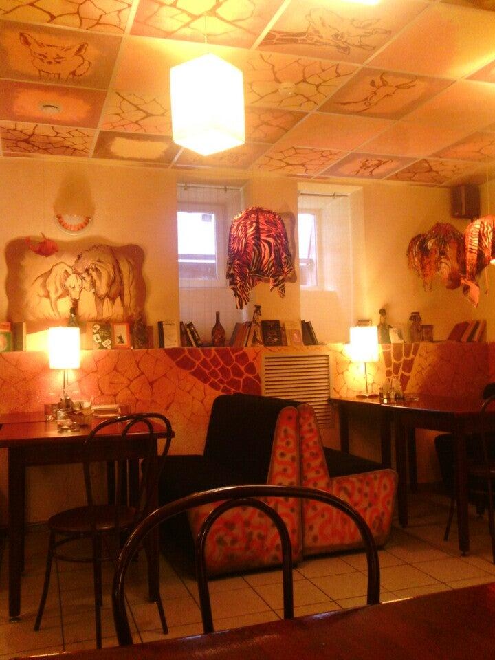 Арт-кафе «Африка» на Печатника Григорьева ул 13 фото №3