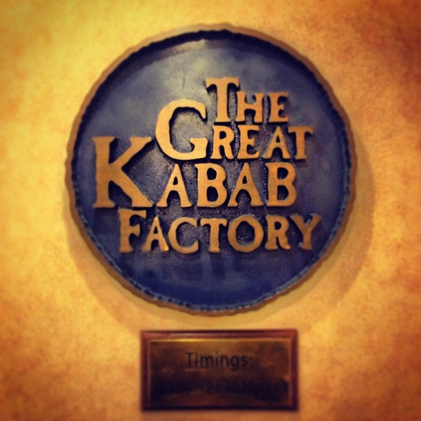 Great Kabab Factory Restaurant