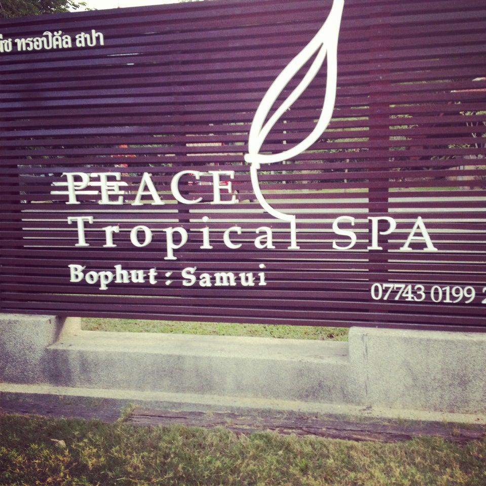 Peacetropical Spa