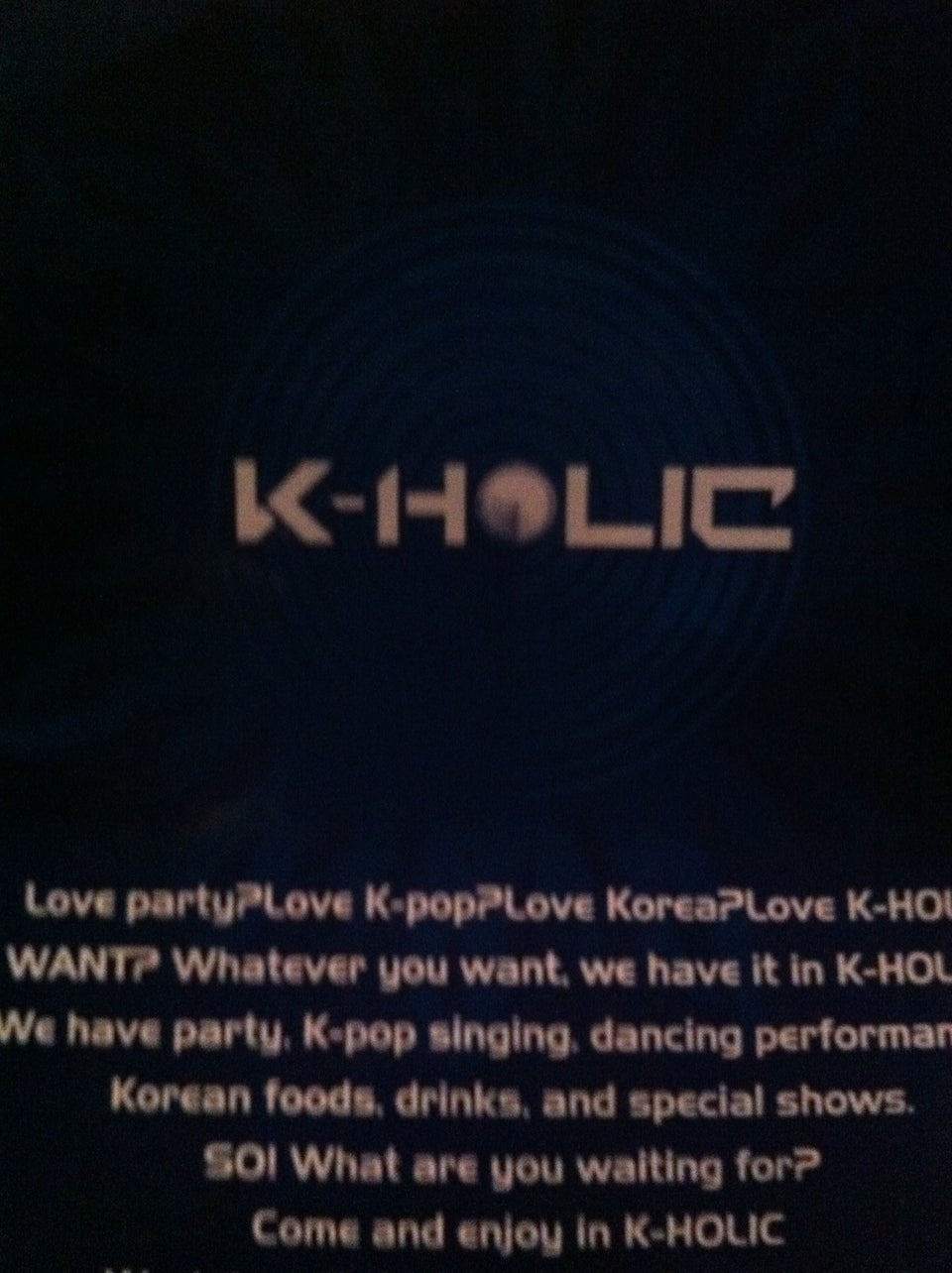K-holic (korean Club)