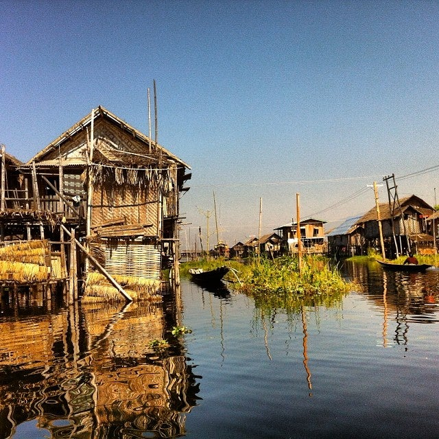 Nam Pan Village In Inle Lake Attraction In Inle Lake