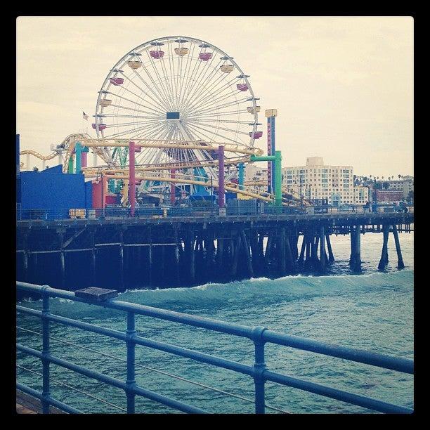 Pacific Park On The Santa Monica Pier