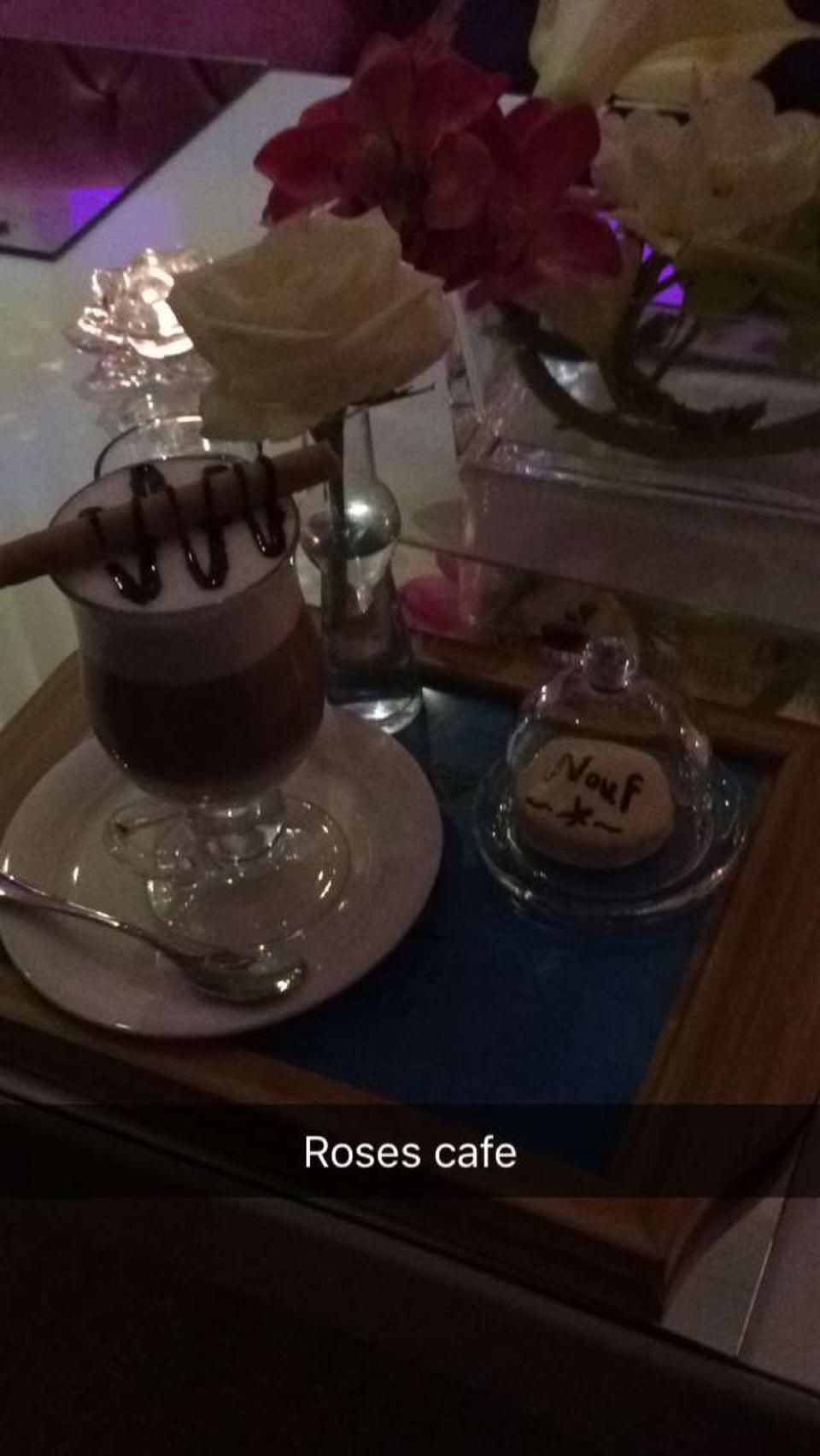 مقهى ورود القهوة في الرياض
