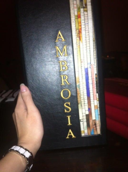 Ambrosia Cafe Singapore
