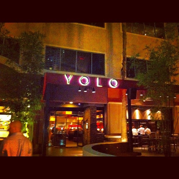 Photo of YOLO You Only Live Once