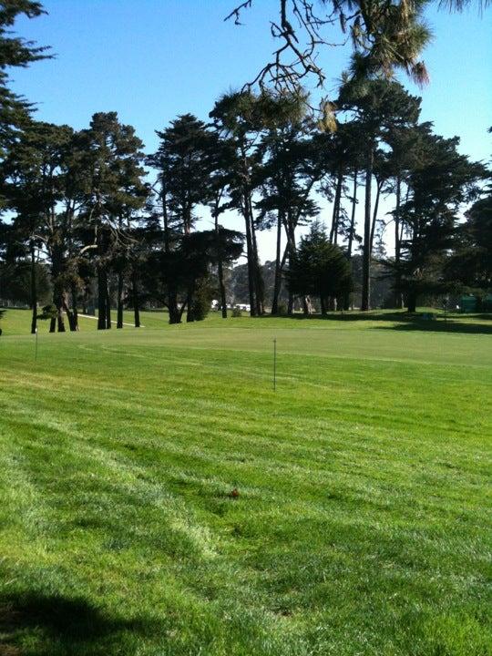 Harding Park Municipal Golf Course, Harding Park Course