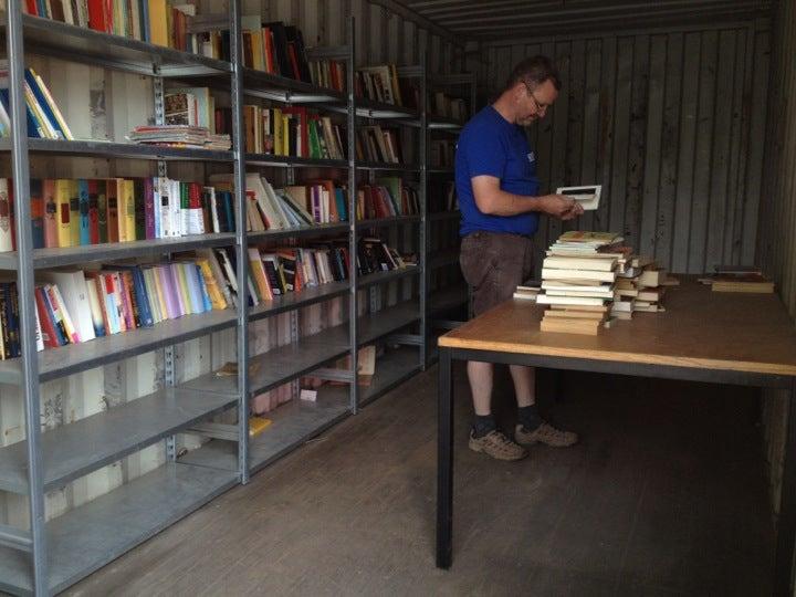 boekenruilcontainer Brasschaat