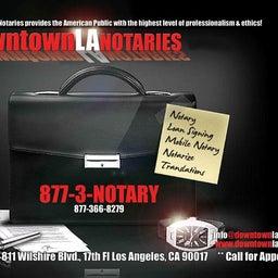 Downtown LA Notary LA Notary