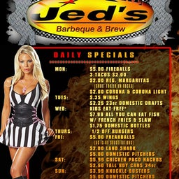 Jed's BBQ and Brew Findlay